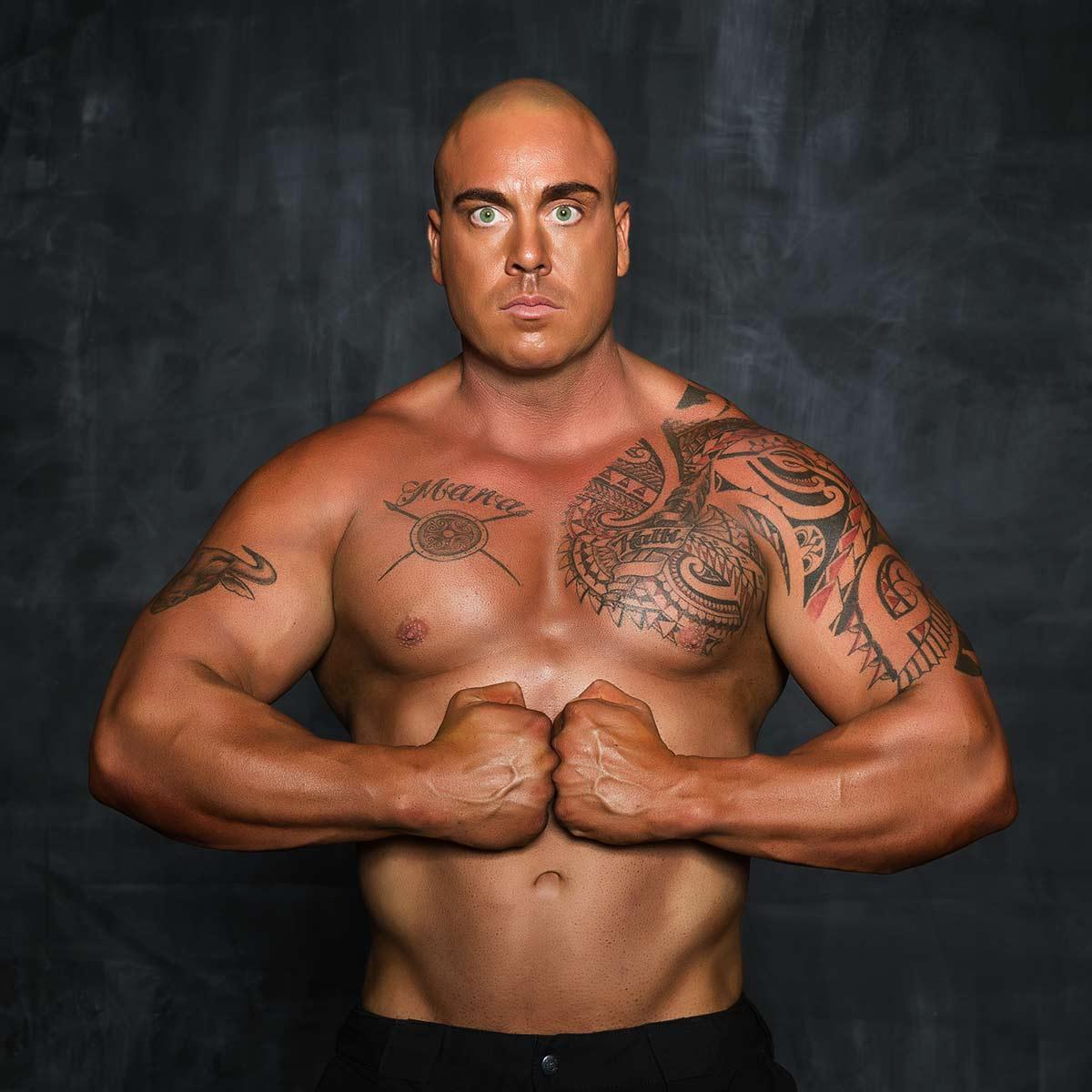 Matthew Ross (The Rock Double)